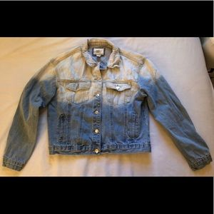 Forever 21 Tie Dye Denim Jacket